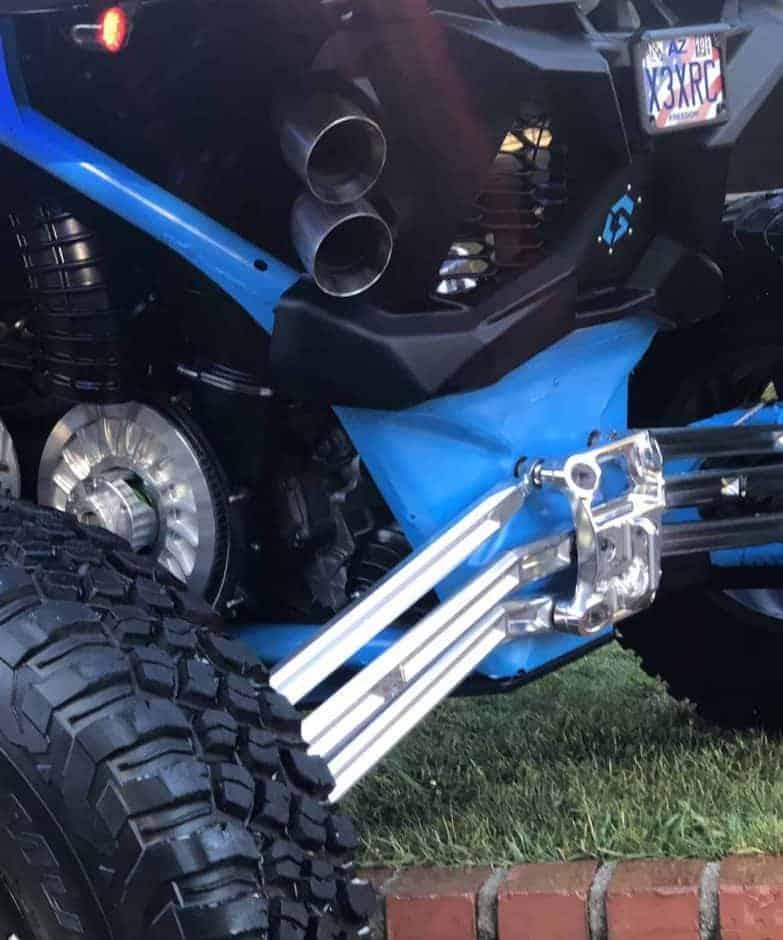 Can-am Maverick X3 64″ High Clearance Radius Rod Set