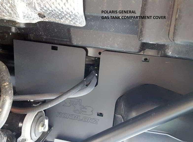 Polaris General Battery & Gas Tank Mud Guard