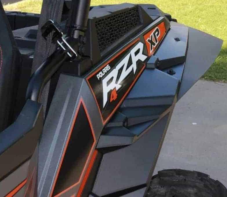 Polaris Rzr Xp Series Original Mud Flap Fender Extensions
