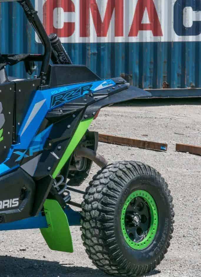 Polaris Rzr Xp Series Sport Max Mud Flap Fender Extensions