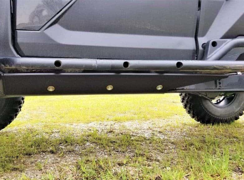 Kawasaki Krx 1000 Skid Plate With Integrated Rock Sliders