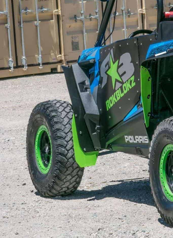Polaris Rzr Xp Series Sport Max Mud Flap Fender Extensions