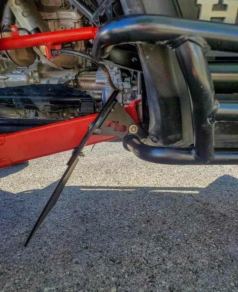 Honda Talon Trailing Arm Guards