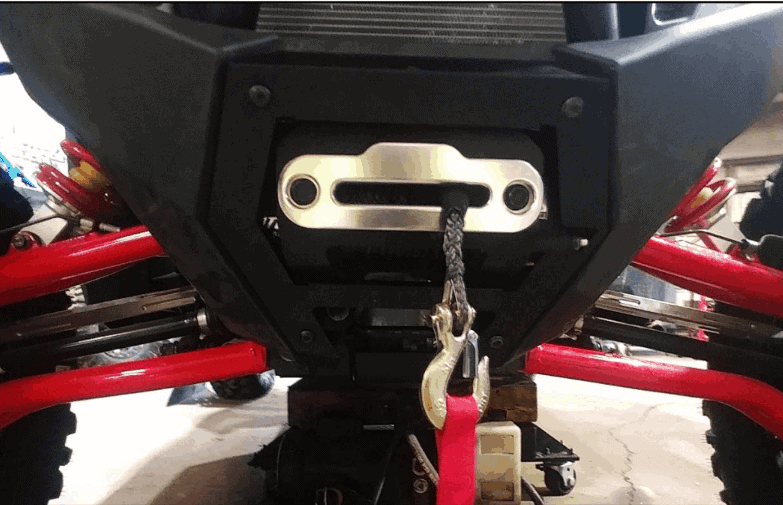 Polaris Rzr Pro Xp Winch Mount