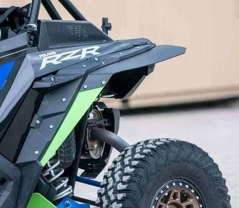 Polaris Rzr Xp Turbo S Mud Flap Fender Extensions