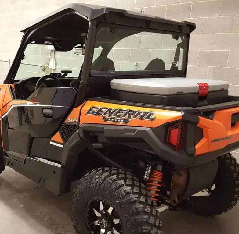 Polaris General Mud Flap Fender Extensions