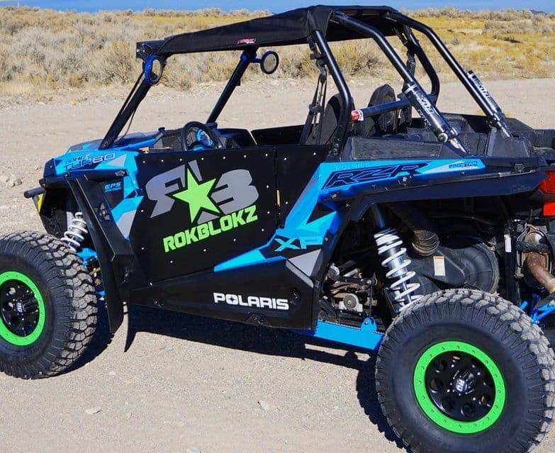 Polaris Rzr Xp Series Mud Ed. Mud Flap Fender Extensions