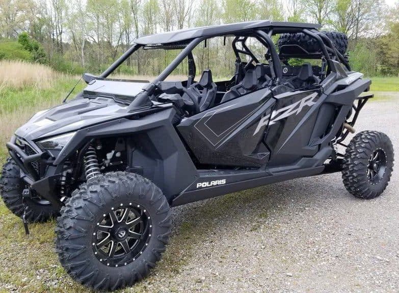Polaris Rzr Pro Xp 4 Full Skid Plate With Rock Sliders