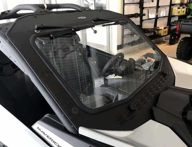 Can-am Maverick X3 Glass Windshield