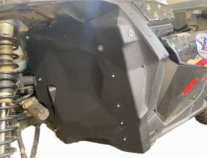 Can-am Maverick X3 Inner Fender, Firewall Liners