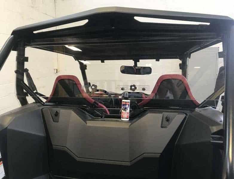 Honda Talon Rear Window Dust Shield