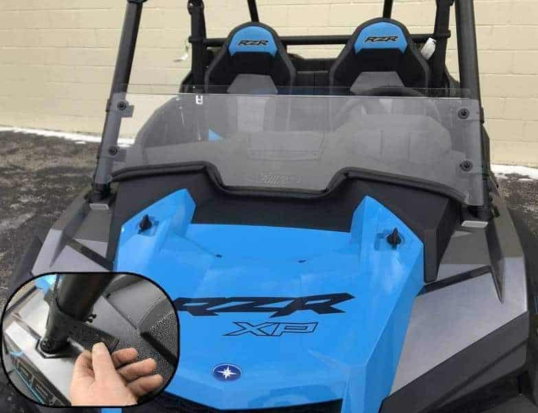Polaris Rzr Xp Series Half Windshield