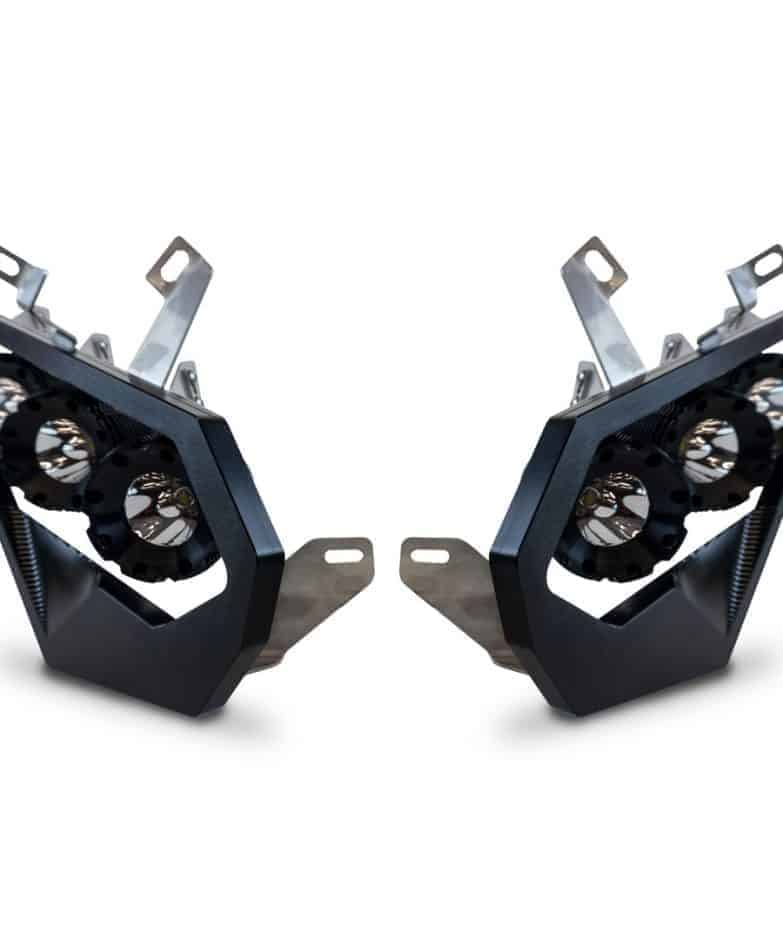 Can-am Maverick X3 Headlights, Billet Led