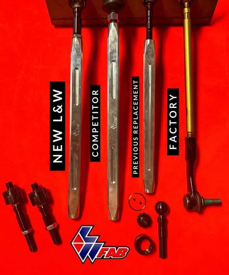 Polaris Rzr Xp Turbo Tie Rod Set, New Hd Ends
