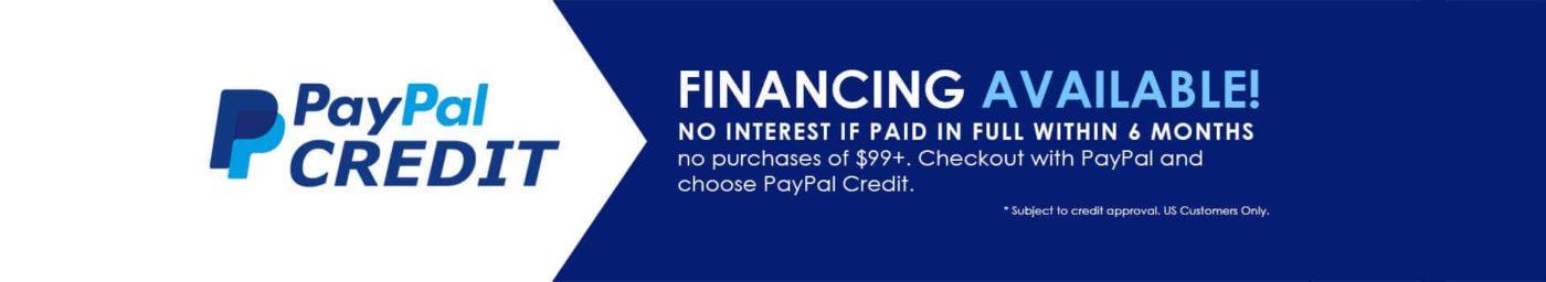 D De Paypal Credit Banner