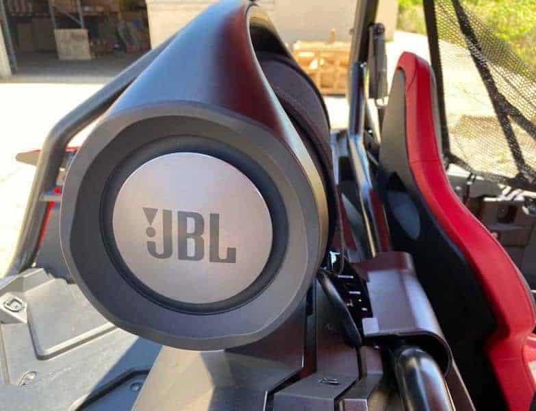 Honda Talon Between Seat Speaker Boom Box Mount