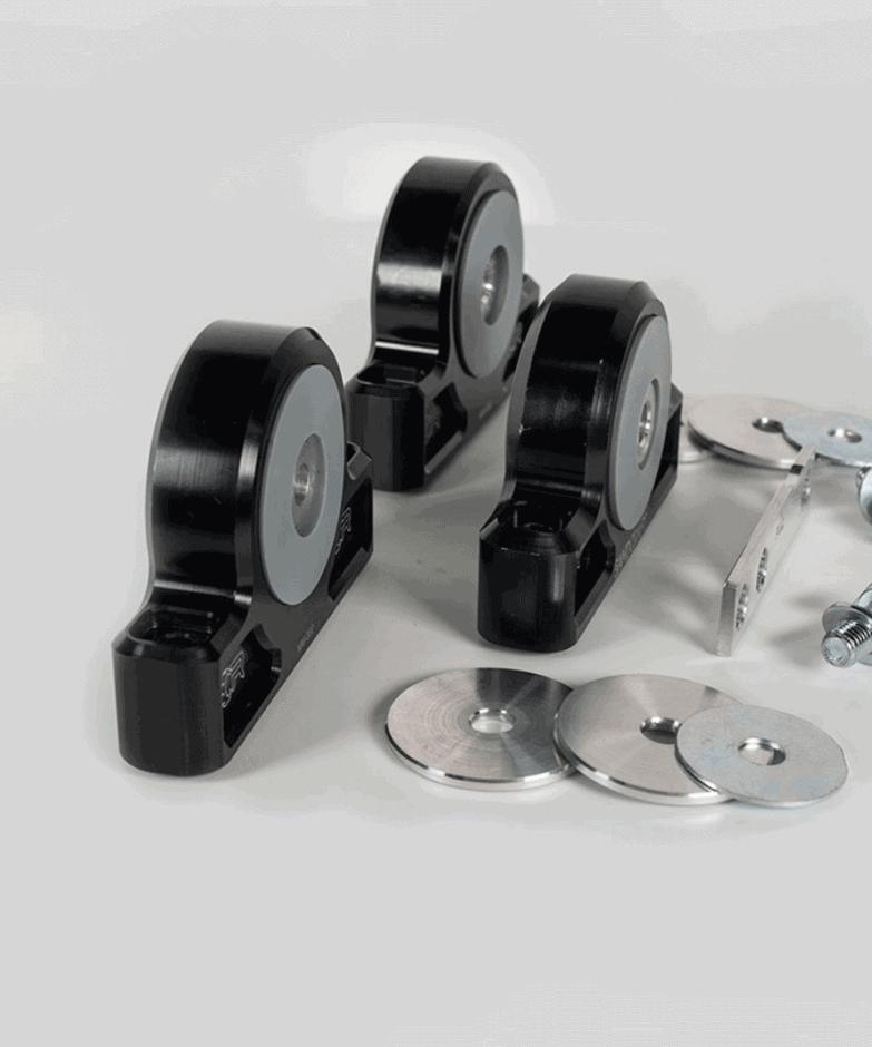 Polaris RZR XP 1000 Billet Motor Mount Kit & Front Diff Shim Kit