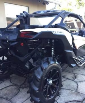 Can-am Maverick X3 Snorkel Kit, Warrior Edition