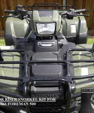Honda Foreman Snorkel Kit, Warrior Edition