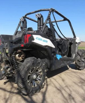 Can-am Maverick Trail Snorkel Kit, Dual Intake Warrior Edition
