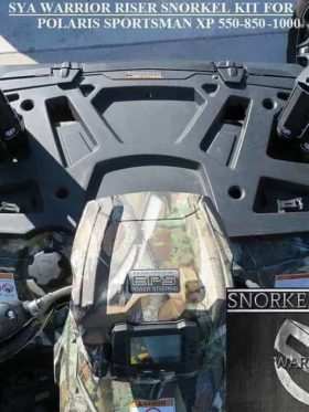 Polaris Sportsman Snorkel Kit, 550 Warrior Edition