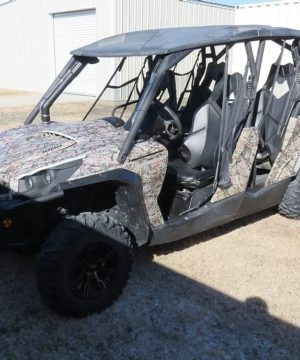 Can-am Commander Max Snorkel Kit, Warrior Edition