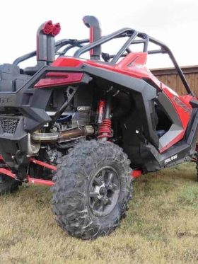Polaris Rzr Pro Xp Snorkel Kit, Warrior Edition
