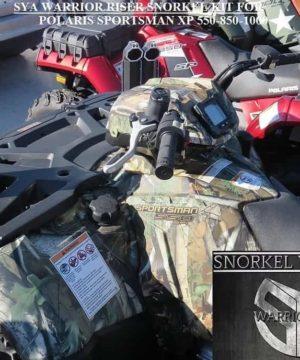 Polaris Sportsman Snorkel Kit, 550 Warrior Edition
