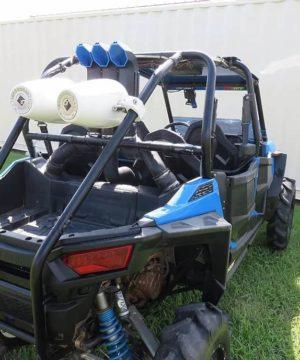 Polaris Rzr S 1000 Snorkel Kit, 3″ Warrior Edition