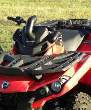 Can-am Outlander Snorkel Kit, Tradition Tube Kit