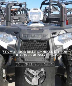 Polaris Sportsman Snorkel Kit, 450 + 570 Warrior Edition