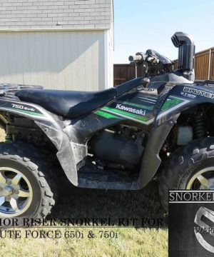 Kawasaki Brute Force Snorkel Kit, Warrior Edition