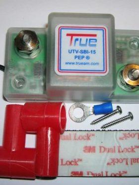 Utv Dual Battery Wiring Kit, Smart Isolator With Meter