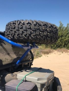 Polaris Rzr Spare Tire Rack, Trail And S Series