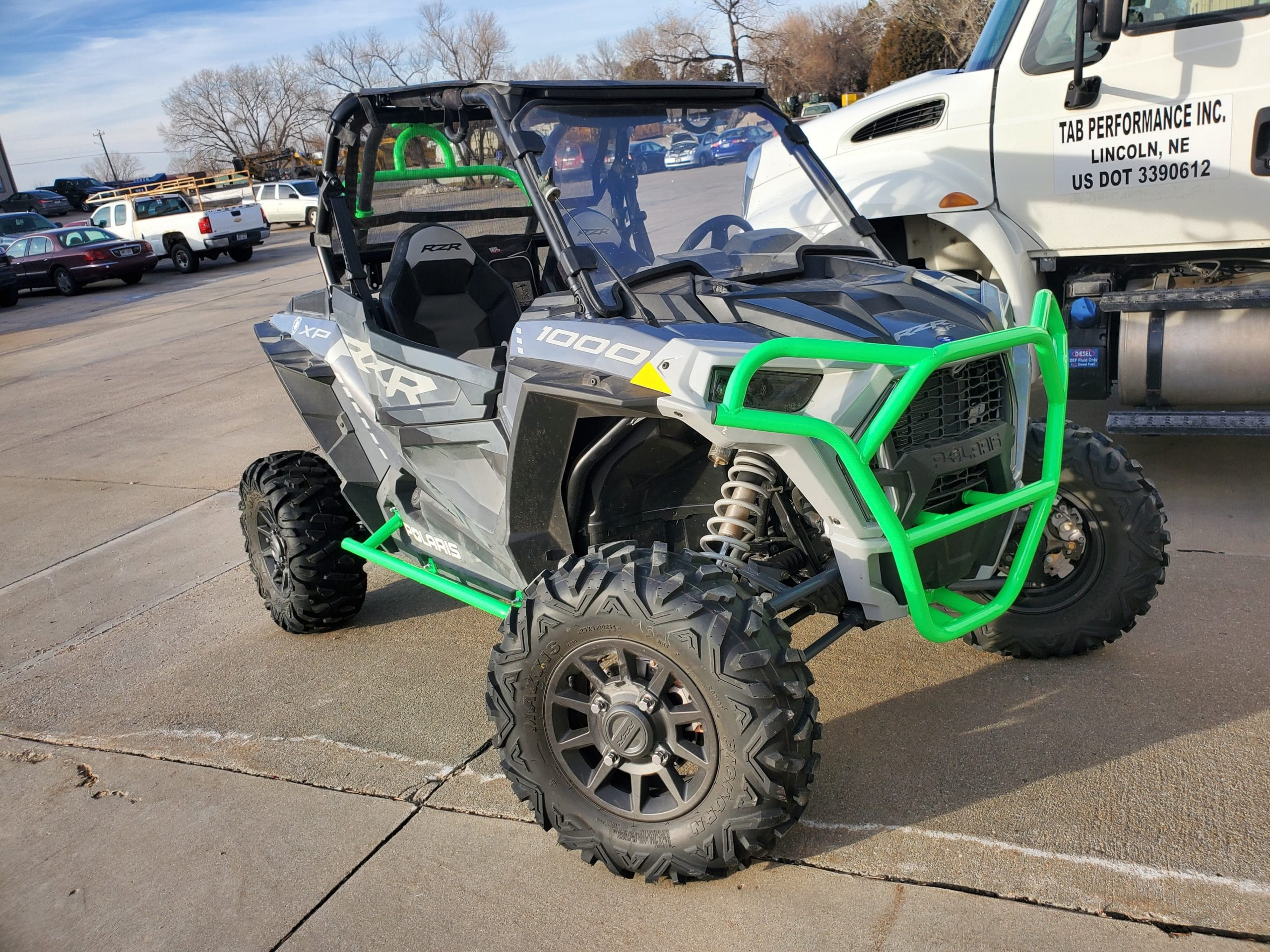 RZR XP Front Bumper Install