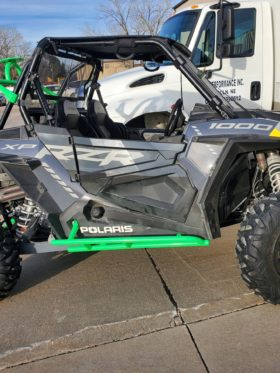 Polaris Rzr Xp Series Tree Kickers, Nerf Bar Sliders