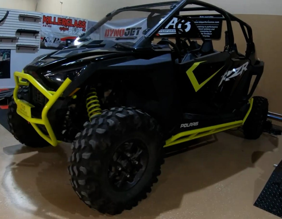 RZR Pro XP Front Bumper Install