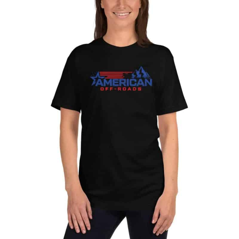 American Off-roads Thin Blue Line T-shirt