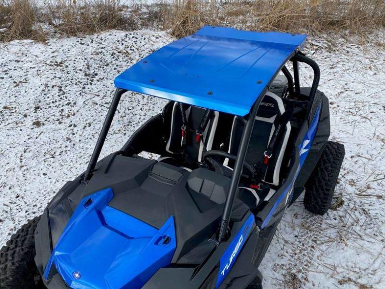 Polaris Rzr Xp Turbo S Roof, Full Metal Rally Style