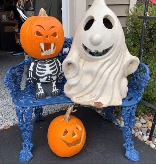 Pumpkins and ghost