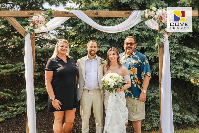 Cove Wedding Photo