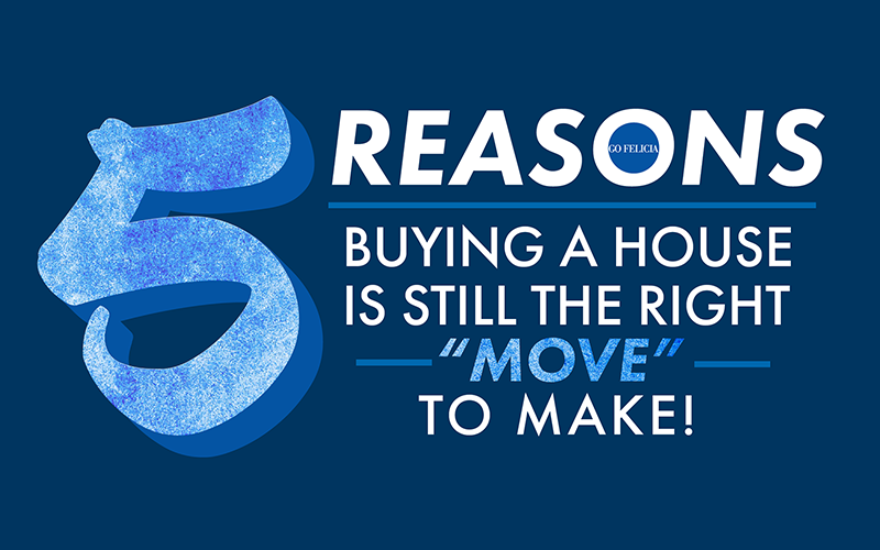 5 Reasons to buy a house
