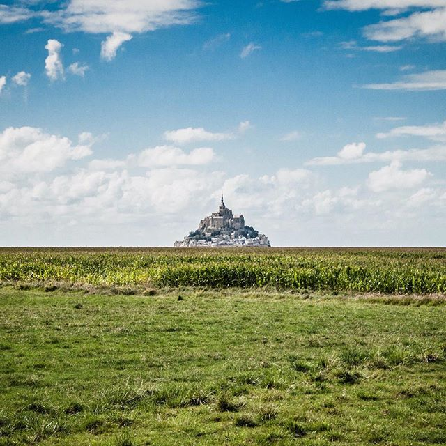 #mountsaintmichael in #france. From inside looking out there are some incredible views with a very intriguing landscape (mudflats). #pkgreece2015 @kaseydaly