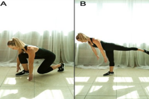 Runner's Lunge to Balance