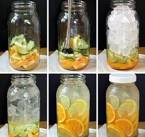 Infused Water untuk Diet