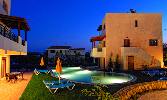 Blue Dream Villas - pool view