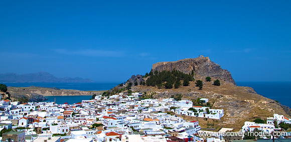 Lindos: Getting around