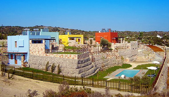 Petroto villas in Kiotari Rhodes