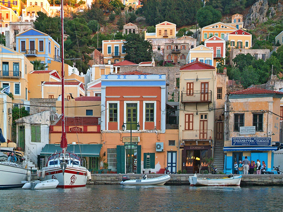 A wander around Symi
