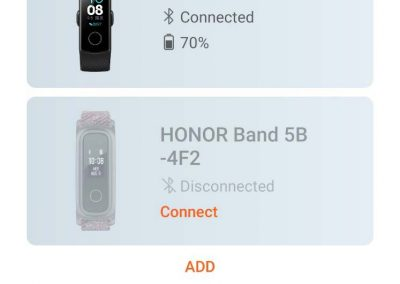 Honor Band Huawei Health